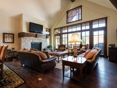 Photo for Luxury cottage with modern decor, on-site concierge and winter shuttle