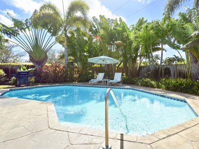 Photo for FORT LAUDERDALE Spacious house  with pool and garden