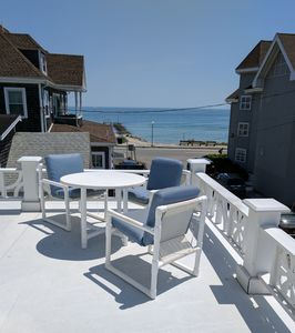 Photo for Extensive Ocean Views Huge Private Sundeck 150 ft from the beach