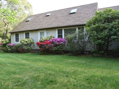 Photo for Charming, quiet house, almost-acre, East Quogue (Southampton),  near beach.