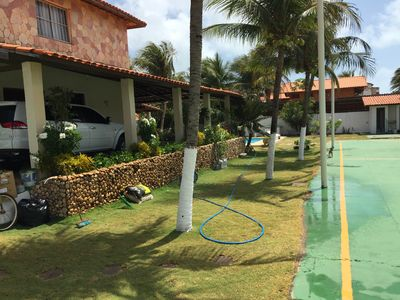 Photo for Beach house in Porto das Dunas at 200mts from the beach