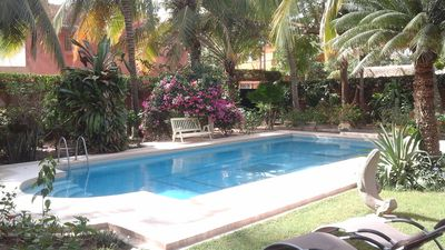 Photo for Villa of character with a large private pool and a wonderful tropical garden