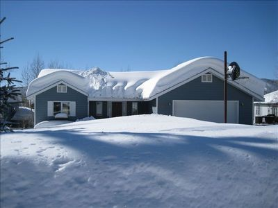 Photo for Beautiful Spacious Home Minutes to Ski Area with Great Views & Very Private