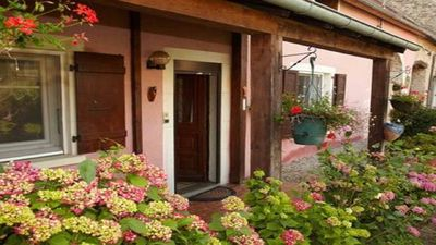 Photo for gîte arthemise is located in a charming village in the valley of the SAONE