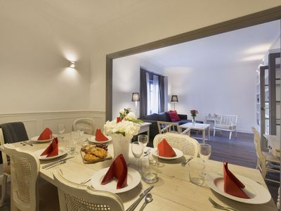Photo for Casanovas 11 apartment in Eixample Esquerra with WiFi, air conditioning, private parking & lift.