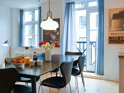 Photo for Beautiful 3-bedroom apartment in a lovely neighborhood of Christianshavn