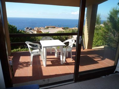 Photo for Costa Paradiso: Two-room apartment with stunning views