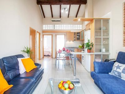 Photo for Holiday apartment Valencia for 2 - 6 persons with 2 bedrooms - Penthouse holiday apartment