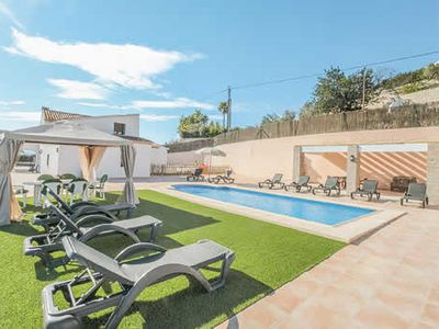 Photo for Spacious family villa with private pool, table tennis and free Wi-Fi