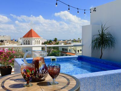 Photo for NO CHANGE / CANCELLATION FEE!  Huge Luxury Penthouse in the Heart of Playa