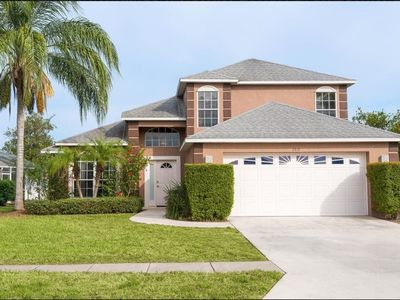 Photo for Enjoy Orlando With Us - Oak Island Harbour - Feature Packed Contemporary 4 Beds 2.5 Baths  Pool Villa - 3 Miles To Disney