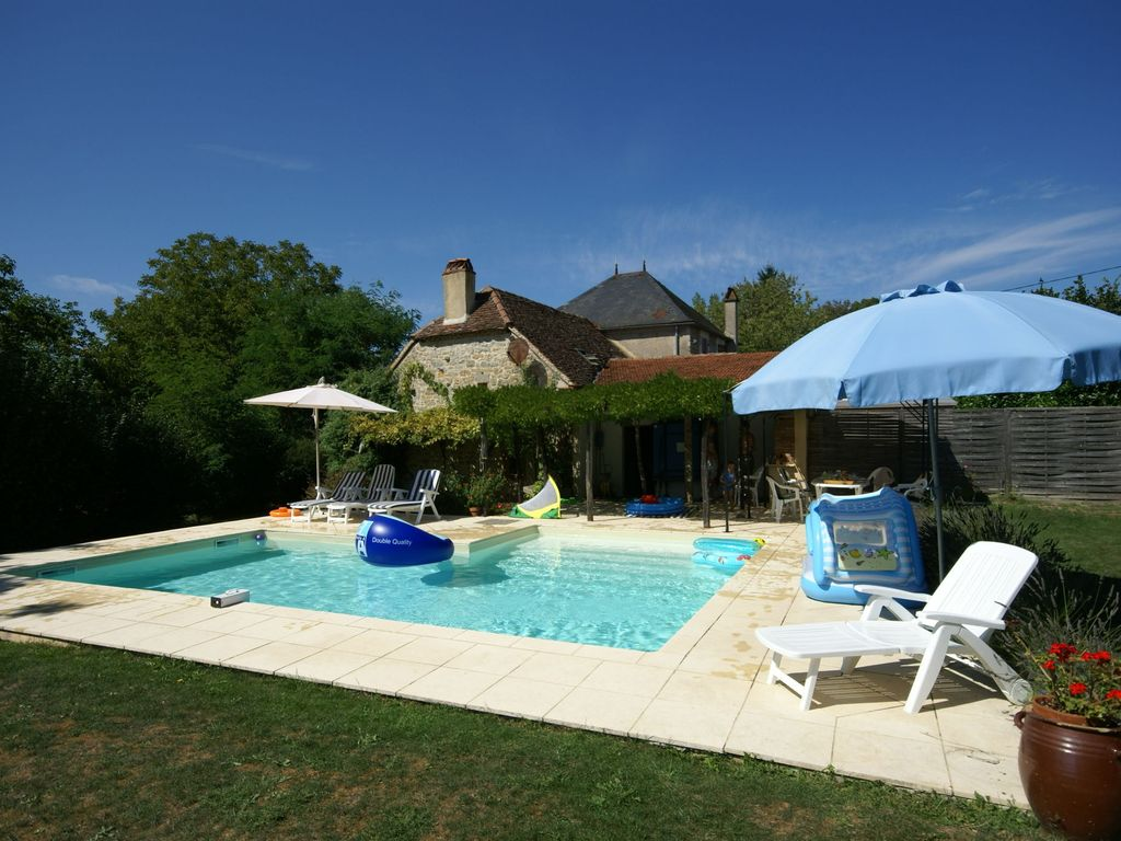 Cosy Authentic Holiday Home With Private Swimming Pool And Garden In Southern France Alvignac
