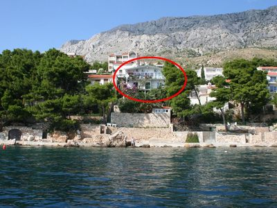 Photo for Studio appartment in Stanići (Omiš) capacity 2+1