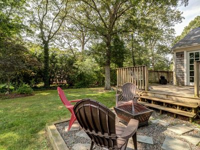 Photo for Cozy Cape home with outdoor shower and deck - minutes from beach!