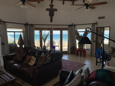 Photo for Beachfront House in Las Concha's.