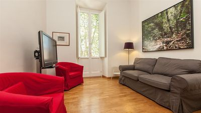 Photo for Apartment 1.1 km from the center of Rome with Internet, Air conditioning, Balcony, Washing machine (913843)