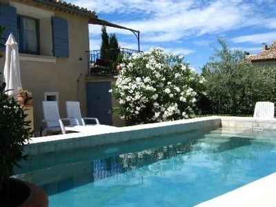 Photo for House, private heated pool, 4-6 people, Provence, Vaucluse, Mont Ventoux