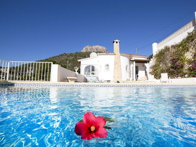Photo for Wonderful private villa for 6 guests with private pool, A/C, WIFI, TV and parking