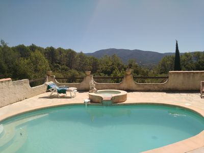 Photo for House with private pool. Quiet with panoramic views. Var backcountry