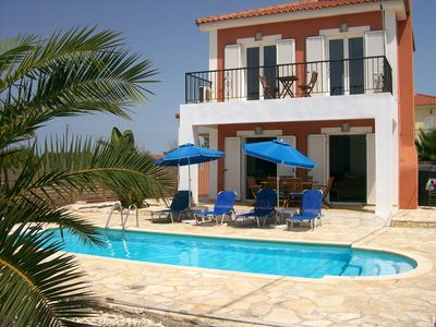 Photo for Homerez last minute deal - Beautiful villa with swimming-pool