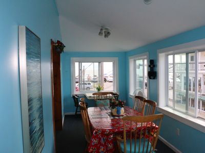 Photo for Ocean View  &  just steps to the Boardwalk and Playground, wake up to sunrises.