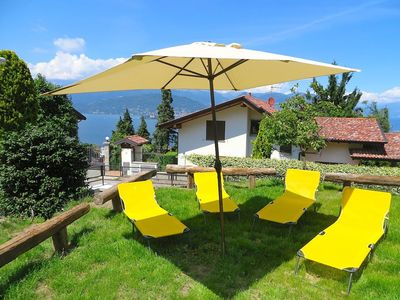 Photo for India apartment with lake view over Stresa