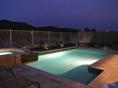 Photo for FEB DATES AVAILABLE!! UPSCALE EXECUTIVE RESORT STYLE HOME! HEATED POOL AND SPA