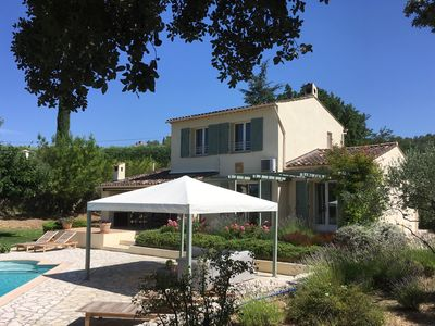 Photo for Great villa with private pool, air conditioning and walking distance to downtown.