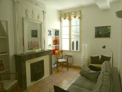 Photo for Intra-Muros: small apartment for 2 people in the heart of Avignon
