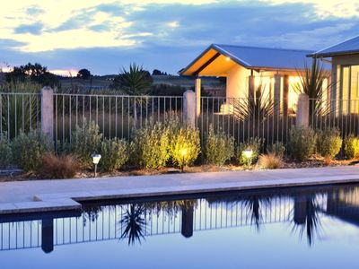 Photo for Nestled in vineyard with views to Cape Kidnappers