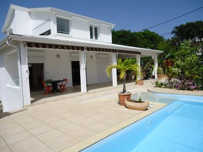 Photo for Villa independent F3, Large Terrace with private pool - Calm and Relax