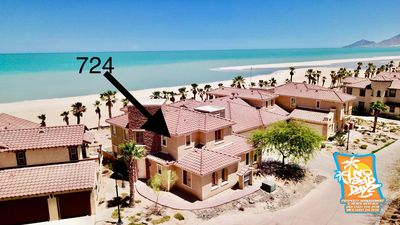 Photo for Beach Front Condo 724 Sleeps 6 adults +Kids