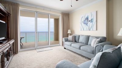 Photo for NEW PROPERTY! Vacation Right on the Gulf in Sand & Seafoam Villa. Sleeps 6!