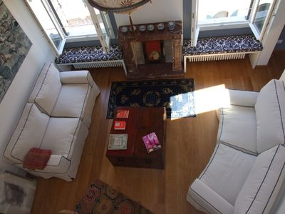 Photo for Stylish apartment 5 min walk from Rialto 360 degree panoramic view