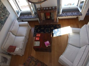 Stylish apartment 5 min walk from Rialto 360 degree panoramic view