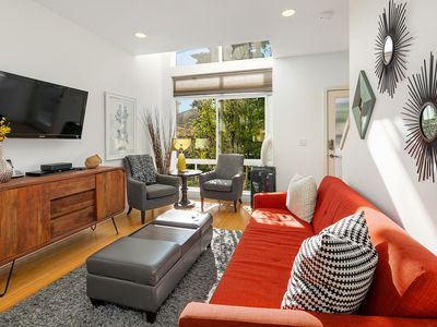Photo for Savor Your Stay at the Stunning Jet City Townhome in Vibrant Fremont!