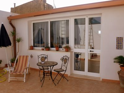 Photo for Studio apartment with terrace in the center of Mazara