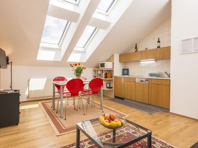 Photo for Friendly Attic Apartment for 3 people