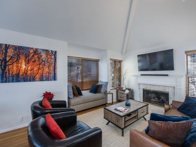 Photo for Bright and Airy Hidden Creek Condo with Loft, a Short Walk to Cabriolet Lift