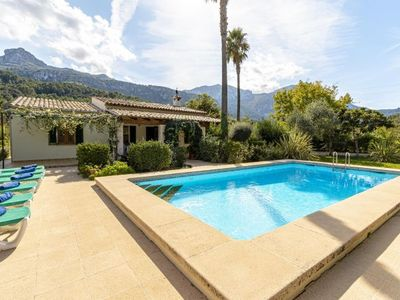 Photo for Pollenca Villa with Pool, Air Con and WiFi