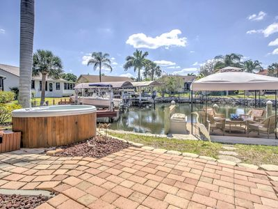 Photo for Waterfront Punta Gorda Home-Dock, Patio & Hot Tub!