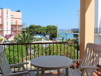 Photo for Nice apartment on the beach of Grifeu, opposite the free parking of the beach of Grifeu, w