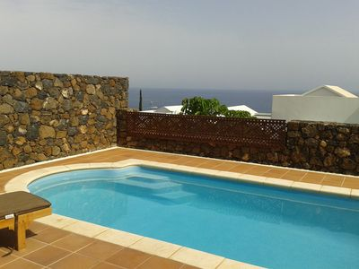 Photo for Villa with private pool, Old town Puerto Del Carmen
