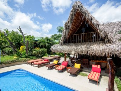 Photo for Stunning & Fully-Equipped Beach Pad - 5 BR Suites, Pool & 4 Minute Walk to Beach