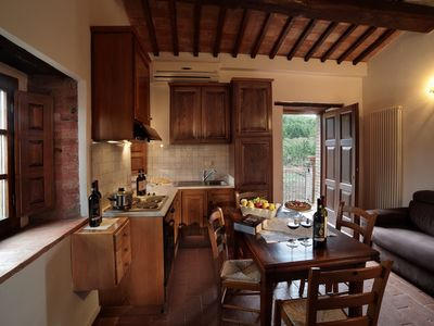 Photo for Rosso di Montalcino Apartment Farmhouse Bonacchi