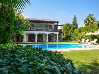 Photo for Villa Palmira Bodrum Bitez Rental Villa With Private Pool. Summer holiday villa rental bitez. Conservative families outside pool not suitable for rent.
