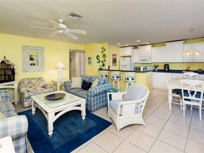 Photo for Unit B2: 2 BR / 2 BA partial gulf view in Sanibel, Sleeps 6