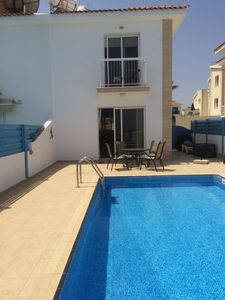 Photo for 2 BEDROOM SEMI DETACHED VILLA WITH PRIVATE POOL 200 METRES FROM BEACH...........