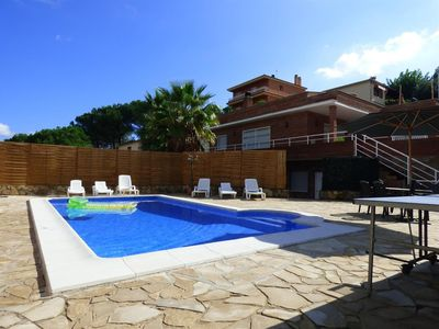 Photo for House 686 m from the center of Lloret de Mar with Internet, Pool, Terrace, Washing machine (738228)
