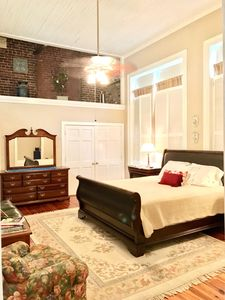 King Size Master Bedroom plus Large Sitting Area and Bath for Utmost Comfort.